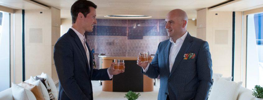 Tom Claeren und Dr. Florian Koschat