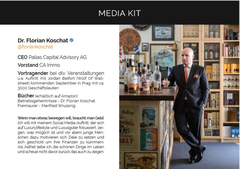Florian Koschat - Media Kit
